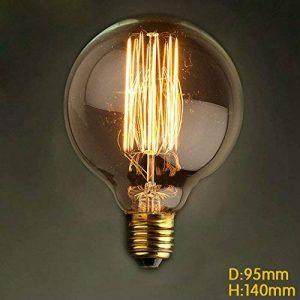 KJLARS Ampoule Edison E27 60W G95 Rétro Ampoules incandescence Vintage Deco Design Lampe de la marque KJLARS image 0 produit