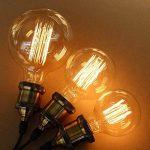 KJLARS Vintage Ampoule Edison E27 60W G80 rétro Ampoule Ampoules incandescence Antique Lampe de la marque KJLARS image 1 produit