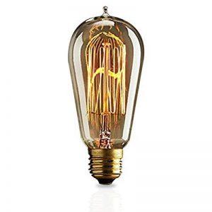 KJLARS Vintage Ampoule Edison E27 ST58 25W Ampoules à incandescence Rétro Ampoule de la marque KJLARS image 0 produit