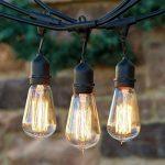 KJLARS Vintage Ampoule Edison E27 ST58 25W Ampoules à incandescence Rétro Ampoule de la marque KJLARS image 1 produit