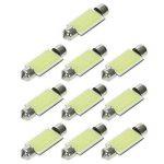 KKmoon 10Pcs Navette 39mm C5W s/n LED Blanc Intérieur SMD Ampoule Voiture Eclairage Plafonnier Lecture de la marque KKmoon image 2 produit