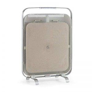 Klarstein HeatPal Marble Chauffage infrarouge 1300W accumulateur thermique Plaque de marbre intégrée pour une dissipation continue de la chaleur 1300 W chauffent la pièce Silencieuse Optique élégante Éléments en aluminium brossé de la marque Klarst image 0 produit