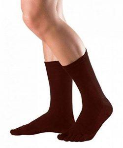KNITIDO Essentials   Chaussettes 5 doigts mi-mollet en coton pour tous les jours de la marque KNITIDO image 0 produit