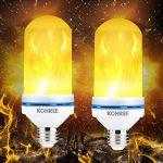 Kohree LED Ampoule Flamme Effect E27 LED Flamme Vacillant Flickering 2835 L Lot de 2 de la marque Kohree image 1 produit