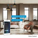 Koogeek Ampoule wifi LED E27 Intelligente 8W Dimmable Lumière 16 millions de couleurs pour Apple Homekit Siri Télécommande 2700-6000K de la marque Koogeek image 1 produit