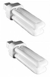 Kosnic 10W Exun-d/E CFL lampe–Lot de 2unités–G24q-1/4broches Base, Pure White 4000K, 12000heures Durée de vie, 620lumens/Compact fluorescent pour spot/NON Dimmable/SKU: Kft10st2/4p-840X 2 de la marque Kosnic image 0 produit