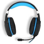 kotion chaque G1000Bandeau casque Gaming jeu Casque audio PC Stéréo 3,5mm Basse casque avec micro coloré respiration lampe LED pour ordinateur portable Black-Blue de la marque KOTION EACH image 3 produit