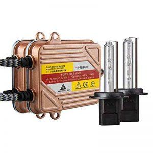 KOYOSO H7 Slim Xenon HID Kit de Conversion 50W Démarrage Rapide Ballasts Fast Lumineux Ampoule de Rechange 6000K de la marque koyoso image 0 produit