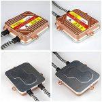 KOYOSO H7 Slim Xenon HID Kit de Conversion 50W Démarrage Rapide Ballasts Fast Lumineux Ampoule de Rechange 6000K de la marque koyoso image 4 produit