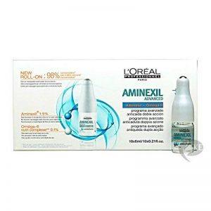 L'Oréal Professionnel Programme Avancé Anti-chute Double Action Aminexil Advanced à l'Oméga-6 Nutri Complexe et Aminexil Série Expert 10x6ml de la marque L'Oréal Professionnel image 0 produit