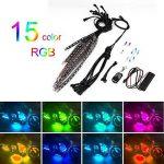 La Bande LED Light, 12 Pièces Rétro-éclairage Kits Bias Lighting Multicolor LED sans Fil à Distance SMD lumière Clignotante étanche, pour la TVHD, Moto, Décoration de la marque Ironheel image 1 produit