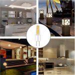 LAKES Ampoule G4 LED COB, DC/AC 12V 2W G4 Lumière (Equivalent à Halogène 25W), imperméable lampe 3000 K (Blanc Chaud) 6 packs de la marque LAKES image 2 produit