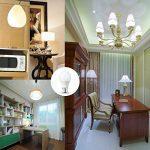 LAKES Ampoule LED Globe A19 Culot B22, 100W Équivalent Ampoule sphérique, 6000K Blanc froidK, Lot de 6 de la marque LAKES image 1 produit