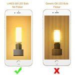 LAKES G9 LED Ampoule, 7W (équivalent ampoule halogène 60W), non-gradable, angle de faisceau de 360 degrés, 3000K blanc chaud, ampoules à économie d'énergie, 6 paquets de la marque LAKES image 4 produit