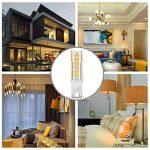 LAKES G9 LED Ampoule, 7W (équivalent ampoule halogène 60W), non-gradable, angle de faisceau de 360 degrés, 3000K blanc chaud, ampoules à économie d'énergie, 6 paquets de la marque LAKES image 2 produit