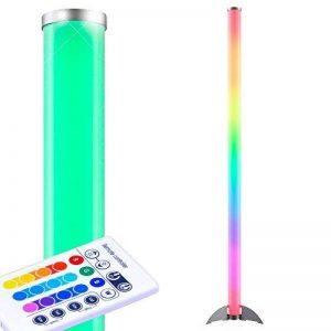 Lampadaire LED RVB 6 Watt lampe acrylique changeur couleur télécommande variateur de la marque Globo image 0 produit