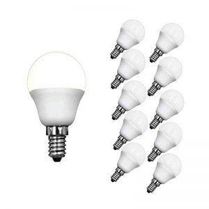 Lampaous 5w P45 E14 ampoule led, équivalent aux ampoules incandescent de 40w, blanc froid 6000k,lot de 10. de la marque Lampaous image 0 produit