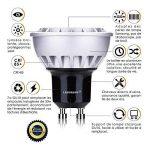 Lampaous® 7w led gu10, blanc froid 6000k, 450lumen équivalent 50 watts, 230VAC, non dimmable, lot de 10 ampoules. de la marque Lampaous image 2 produit