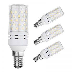 Lampaous led E14 12W Ampoules de maïs blanc froid 6000K Ampoules d'halogène de 100 watts Remplacement, 360 degrés angle de faisceau. Très lumineux, adapté pour le restaurant, Lampe de chevet, lustres du salon, appliques murales, lampes de jardin, lumières image 0 produit