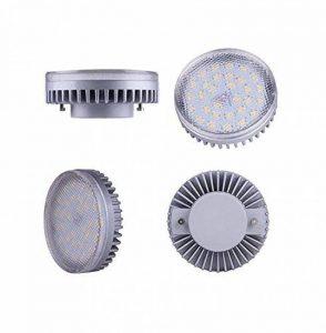 Lampaous LED GX53 Ampoule, 8 Watt 640lumens blanc froid 6000k, Remplacement CFL, Ampoule à économie d'énergie, Ampoule LED parfait pour armoire de cuisine, armoire, placard, Showcase, lot de 4. de la marque Lampaous image 0 produit