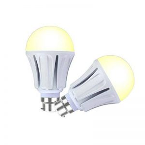Lampaous Lot de 2–A70 15 W 1200 Lumens ampoule LED à culot baïonnette B22 Blanc chaud à incandescence 100 W SMD de rechange pour Samsung de la marque Lampaous image 0 produit
