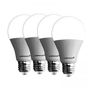 lampaous® Lot de 4Ampoule Led 15W E27LED Globe A70à vis GLS ediosn Lampe, couleur blanc froid 6000K, 1500lumens Super Bright Lights 120W équivalent ampoules à incandescence, respectueux de l'environnement, Haute efficacité 85% d'économie d'énergie. image 0 produit