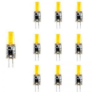 Lampe Ampoule LED G4 LED COB 220 V 2 W, 3000 K (10-unidades) Blanc chaud de la marque TECNOLUXEURO image 0 produit