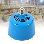 Lampe chauffante pour animaux de compagnie, Nouveau Style E27 Lampe volante pour la chaleur de la volaille Garder la lumière pour réchauffer les poulets Porcelet chauffeur Poulet Lézard Tortue Pet Coo(Bleu) de la marque Haofy image 1 produit