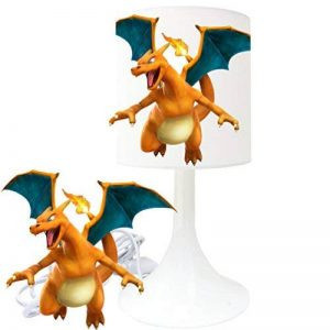 Lampe de chevet de création - Lampe à poser enfant - Pokemon (1) - Dracaufeu de la marque LMD image 0 produit