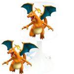 Lampe de chevet de création - Lampe à poser enfant - Pokemon (1) - Dracaufeu de la marque LMD image 1 produit