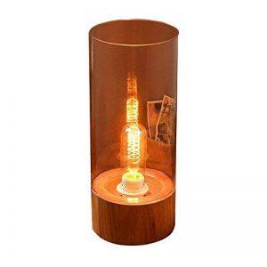Lampe de table Lampe De Table En Verre Massif En Bois Du Nord Europe Décoration Lampe De Table À Coucher de la marque ZM Lampe de table image 0 produit