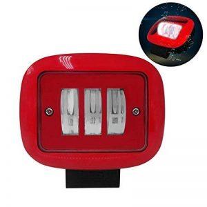Lampe de travail carrée, spot de travail 30W allume la lampe de conduite hors route circulaire légère de brouillard de LED de la marque Funsquare image 0 produit