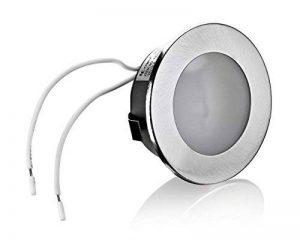 Lampe de travail lED encastrable plate 12 v avec ampoules g4/20 w avec transformateur 230 v/12 v de la marque LC-Light image 0 produit