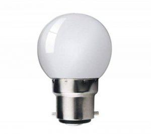 LAMPE LED 1 W À ÉCONOMIE D'ÉNERGIE BLANC LAMPE LED LONGUE DURÉE DE VIE DE 50 000 HEURES, À BAÏONNETTE BC/B22 DÉCORATIF OU VEILLEUSE AMPOULE LAMPE LED D'INTÉRIEUR OU D'EXTÉRIEUR LED LAMPE IP65 10 W = 15W de la marque Kosnic image 0 produit