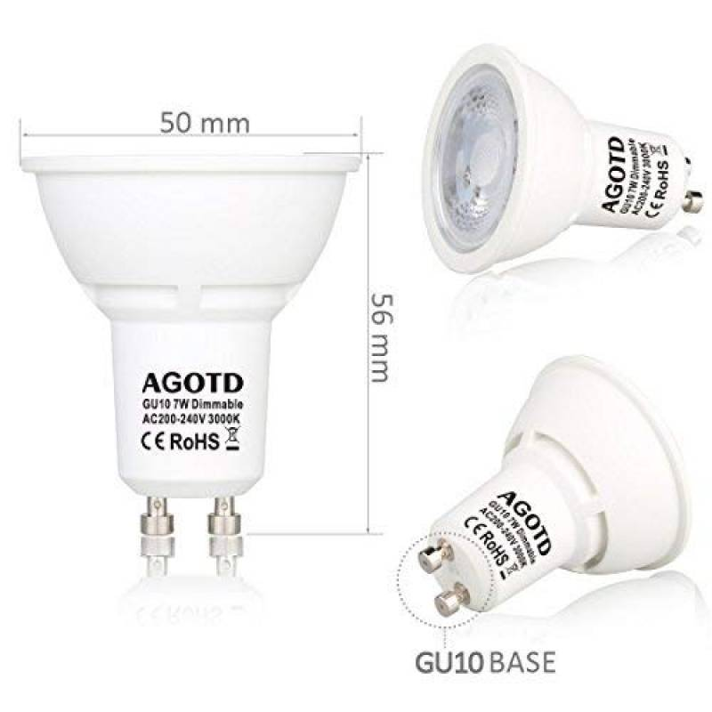 Gu10 10 Lampe Votre 2019Comparatif Led Top Pour 220v Ampoules y8nwN0mvO