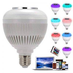 Lampe LED, lampe LED Mamum, Mamum son Haut-parleur sans fil Bluetooth Audio Musique ampoule RGBW lampe LED Blanc de la marque Mamum image 0 produit