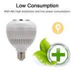Lampe LED, lampe LED Mamum, Mamum son Haut-parleur sans fil Bluetooth Audio Musique ampoule RGBW lampe LED Blanc de la marque Mamum image 2 produit