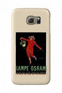 Lampe Osram Vintage Poster (artist: Vasquez) France c. 1911 (Galaxy S6 Cell Phone Case, Slim Barely There) de la marque Lanterner image 0 produit