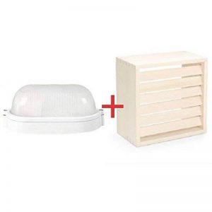 LAMPE OVALE POUR SAUNA + ABAT-JOUR GALLO de la marque Lindner image 0 produit