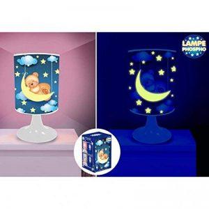 Lampe Phosphorescente - Ourson et Lune de la marque STC image 0 produit