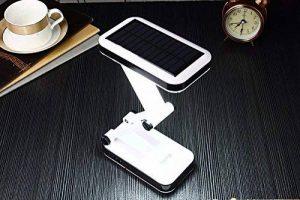 [LAMPE SOLAIRE] de bureau rechargeable, pliable et réglable possédant 24 LED économes en énergie, haute efficacité et longue durée de vie - autonomie de 5 heures - Avec deux mode de travaille. de la marque Techdrome image 0 produit