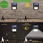 Lampe Solaire Extérieure, BAXiA 28LED Applique Solaire Sans Fil Lumière Solaire Imperméable avec Détecteur de Mouvement Lampe de Sécurité pour Jardin,Escalier Exterieur, Patio, Terrasse (400LM, Lot de 4) de la marque BAXiA image 3 produit