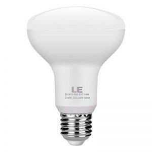 LE Lighting Ever Ampoule LED 10W E27 Réflecteur R80, Équivalent Ampoule Incandescente 60W, 810lm, Blanc Chaud 2700K, 120 ° faisceau de la marque Lighting EVER image 0 produit