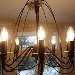 LE Lighting EVER Ampoule LED Filament Flamme, Culot E14, 4W, Blanc Chaud 2700K, Equivaut à Incandescence 40W, Lot de 6 de la marque Lighting EVER image 3 produit