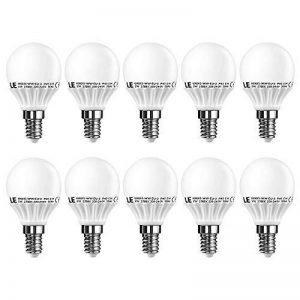 LE Lighting Ever Ampoules LED E14 3W, Équivalent à Ampoule à Incandescence 25W, 250lm, Blanc Chaud 2700K, Angle de diffusion 200°, Non-Dimmable, Idéale pour Lustre, Chambre, Salle de Séjour, Lot de 10 de la marque Lighting EVER image 0 produit
