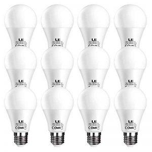 LE Lighting EVER Ampoules LED E27 9W, 800lm, 2700K Blanc Chaud, Equivaut à Ampoule Incandescente 60W, Non-Dimmable, Lot de 12 de la marque Lighting EVER image 0 produit