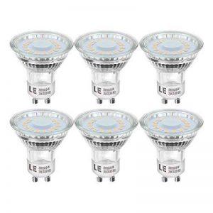 LE Lighting EVER Ampoules LED GU10 4W, Equivaut à Ampoule Halogène 50W, MR16 350lm, Blanc Chaud, Lot de 6 de la marque Lighting EVER image 0 produit