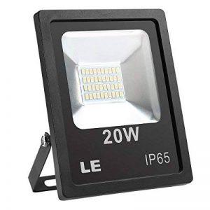 LE Lighting EVER Projecteur LED 20W, 1600lm Blanc Chaud, 3000K, Etanche IP65, Eclairage Extérieur pour Terrasse, Jardin, Mur, Scène, Cour, Parc, etc. de la marque Lighting EVER image 0 produit