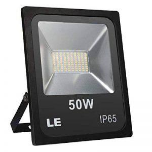LE Lighting EVER Projecteur LED, Spot Extérieur 50W, Blanc Chaud 4000lm, Etanche IP65, pour Chantier, Terrasse, Jardin, Mur, Parc, etc. de la marque Lighting EVER image 0 produit