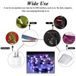 LEBRIGHT USB LED TV rétroéclairage ruban led,100cm(39Inch) 5V bande led Kit d'éclairage USB Bias pour jeux de télévision, éclairage multi-couleurs imperméable à l'eau pour HDTV de la marque LEBRIGHT image 1 produit